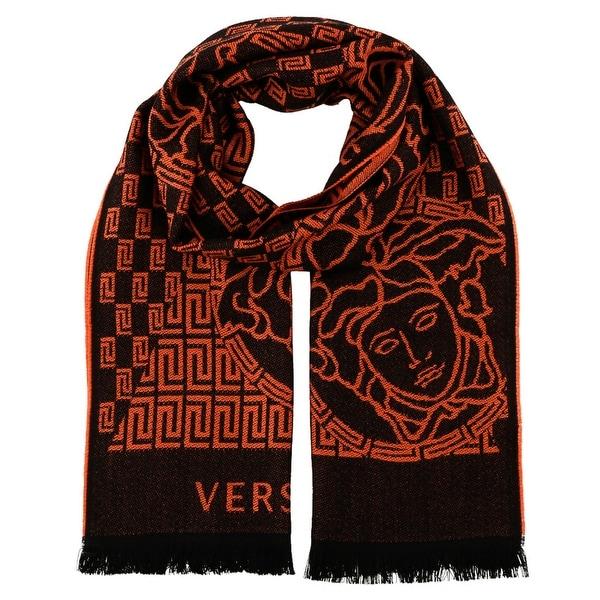 Versace IT00627 100% Wool Mens Scarf