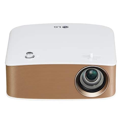 LG Electronics LED Projector with Bluetooth Sound, Screen Share and Built-in Battery (2016 Model)