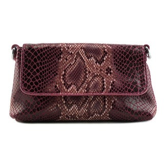 Buco Snake Clutch Crossbody Women   Synthetic  Clutch - Purple