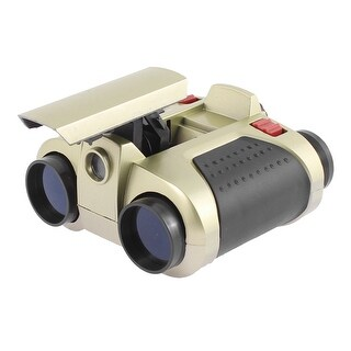 Unique Bargains Night Vision 4 x 30mm Portable Pocket Pop-Up Light Binocular Telescope