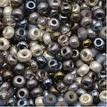 Czech Seed Beads 6/0 'Heavy Metals' Mix (1 Ounce) - Thumbnail 0