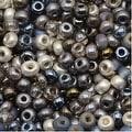 Czech Seed Beads 8/0 Heavy Metals Mix (1 Ounce) - Thumbnail 0