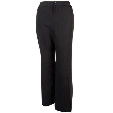 Lauren Ralph Lauren Women's Light Capri Pants - Black - 10
