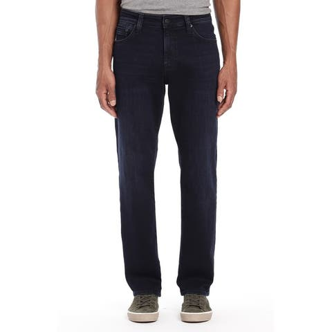 Mavi Jeans Mens Jeans Blue Size 32X34 Matt Relaxed Straight Leg Stretch