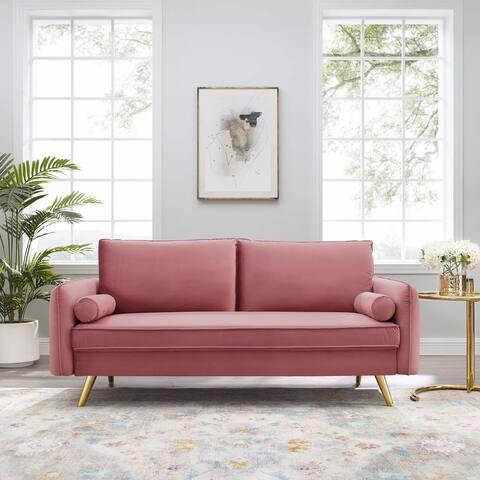 Revive Performance Velvet Sofa
