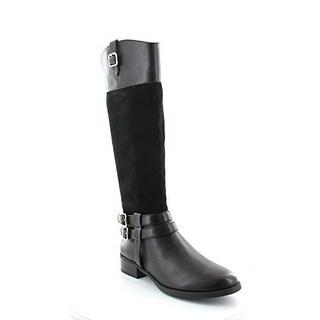 INC Intenational Concepts Women's Fahnee Wide Calf Knee-High Boots