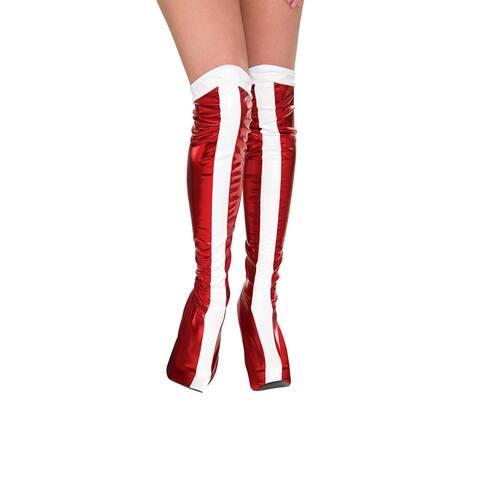 DC Comics Wonder Woman Costume Boot Tops Adult One Size - Multi