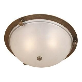 JVI Designs 1060 2 light Flushmount Ceiling Fixture (Option: Pewter Finish)