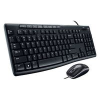 Logitech Media Combo Mk200 Full-Size Keyboard And Hd Optical Mouse (920-002714)