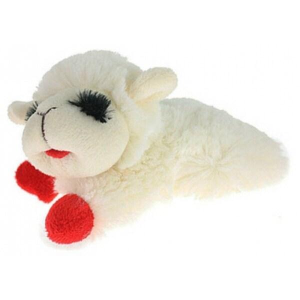 Shop Multipet International 48371 Mini Lamb Chop Plush Dog Toy 6