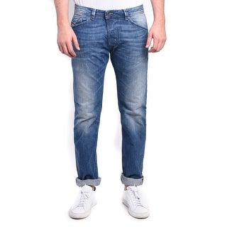 Diesel Darron Men's Regular Slim-Tapered Denim Jeans 0RB04