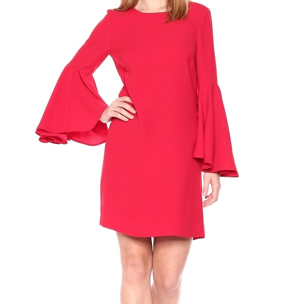 cd510407a2375 Shop CATHERINE Catherine Malandrino Red Womens Size Medium M Shift ...