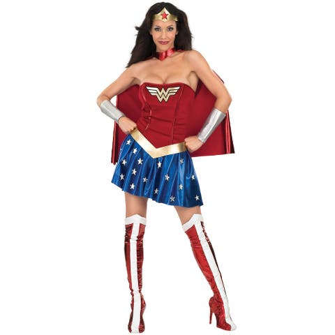 Rubies Justice League Secret Wishes Wonder Woman Adult Costume - Solid