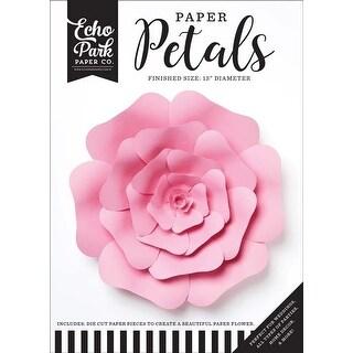 Large Pink Rose - Echo Park Paper Petals