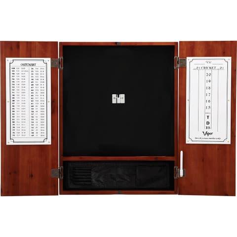 Viper Metropolitan Cinnamon Steel Tip Dartboard Cabinet / 40-0405