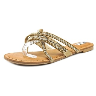 Not Rated Tabago Trippin Women Gold Sandals