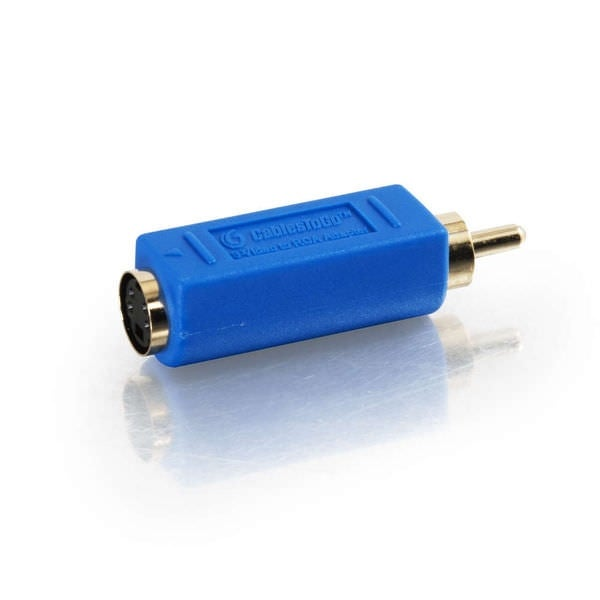 C2g 13051 Bi-Directional S-Video Female To Rca Male Rca Video Adapter