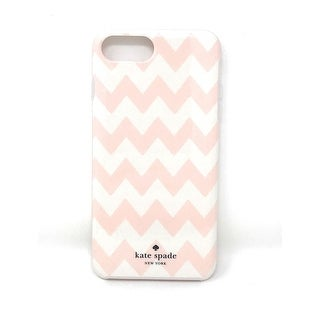 Kate Spade New York Chevron Blush Pink Protective Case for iPhone 8 Plus / iPhone 7 Plus / iPhone 6 Plus