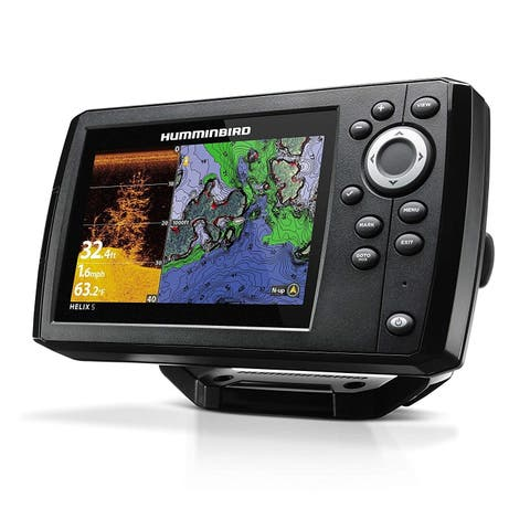 "humminbird 410260-1 Marine Touch 5"" Bluetooth GPS, Black - 13x12x11"