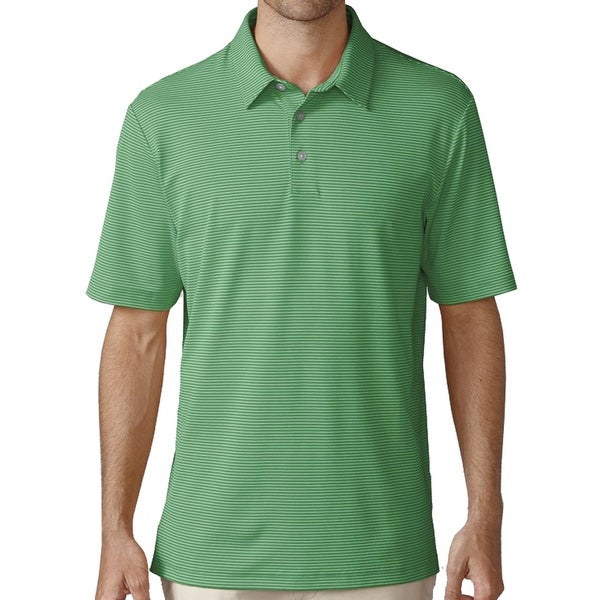 Ashworth Golf Men's Interlock Mini Stripe Polo Shirt, Brand NEW