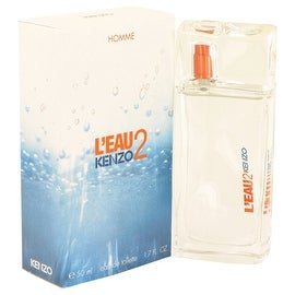L'eau Par Kenzo 2 by Kenzo Eau De Toilette Spray 1.7 oz - Men