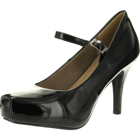 Delicacy Cyndi-91 Women's Hot Fashion Ankle Strap Mary Jane Dress Pumps Shoes