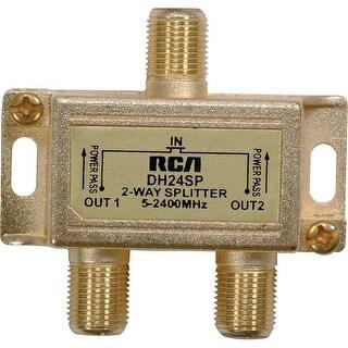 Rca Dh24Spf 3Ghz Digital Plus 2-Way Splitter