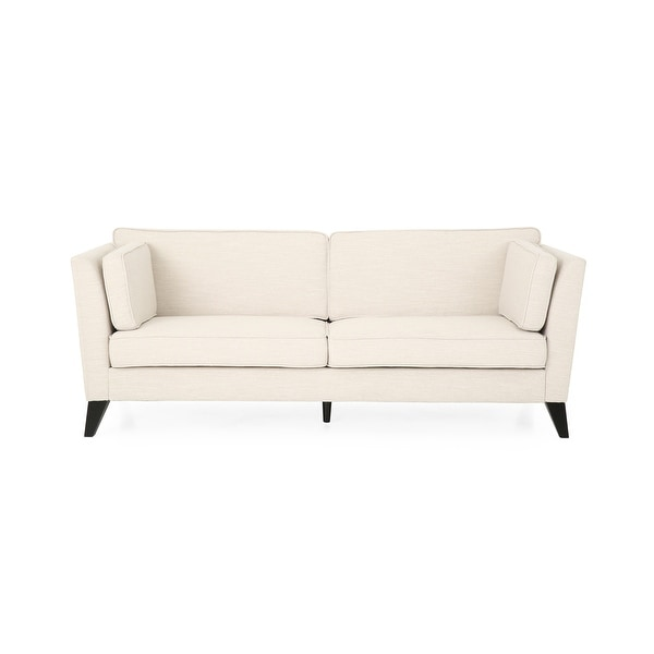 Bryford Contemporary 3 Seater Fabric Sofa by Christopher Knight Home. Opens flyout.