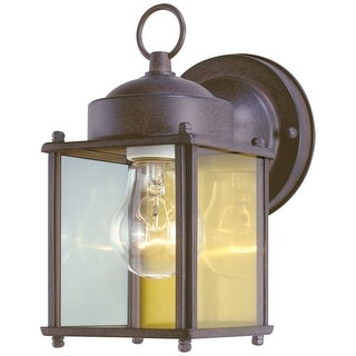 Westinghouse 66935 1-Light Exterior Wall Lantern, Sienna Finish