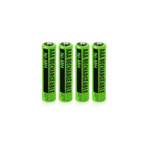 Replacement Panasonic KX-TG9343T NiMH Cordless Phone Battery - 630mAh / 1.2v (4 Pack)