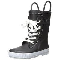 Western Chief Boys Sneaker boot Mid-Calf Pull On Rain Boots - little boys 5.0