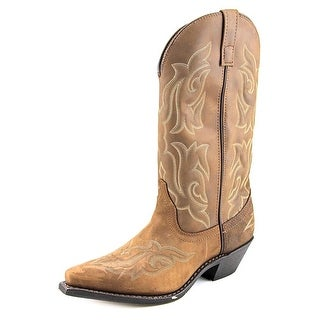 Brown Womens Cowboy Boots - Cr Boot