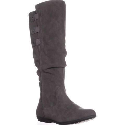 0fba908fe Cliffs by White Mountain Womens Felisa Almond Toe Knee High Fashion Boots