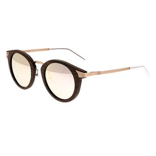 Earth Wood Zale Unisex Wood Sunglasses - 100% UVA/UVB Prorection - Polarized/Mirrored Lens - Multi