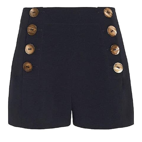 Derek Lam Crosby Navy Sailor Shorts