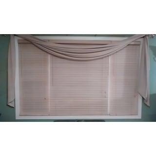 Bahama Sand Woven Fabric Slat Blinds