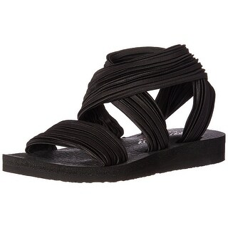 Skechers Womens Meditation Still Sky Open Toe Casual Strappy Sandals