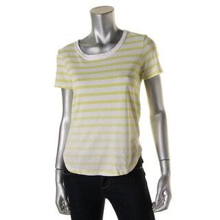 Splendid Womens Striped Boxy T-Shirt - XS