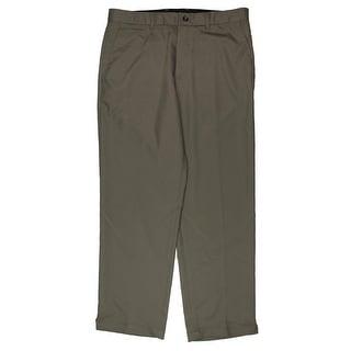 Greg Norman for Tasso Elba Mens Casual Pants Slim Fit Moisture Wicking