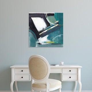 Easy Art Prints Alison Jerry's 'Construction' Premium Canvas Art