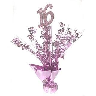Sweet 16 Pink Centerpiece