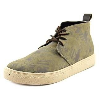 Generic Surplus Chukka Harrington Men Round Toe Canvas Tan Sneakers