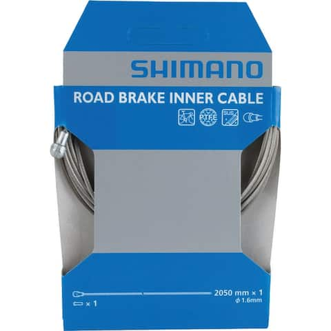 Shimano teflon 2050mm road cable inner brake