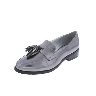 Kenneth Cole Reaction Womens Jet Ahead Loafers Tassel Embellished