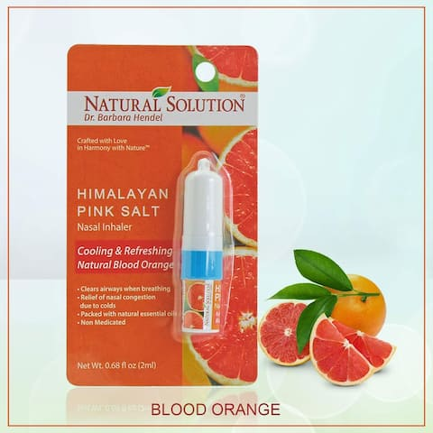 Natural Solution Blood Orange Nasal Inhaler, 0.68 oz