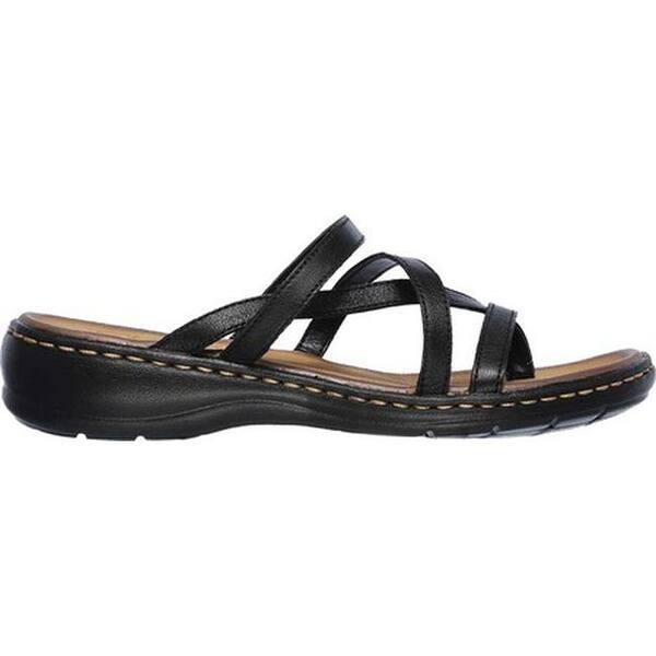 derivación micrófono Aparador  Skechers Women's Passenger Quatre Toe Loop Sandal Black - Overstock -  20897224
