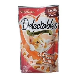 Hartz Delectables Gourmet Cat Treats - Braised Chicken & Tuna Flavor 2.1 oz
