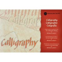 Manuscript Calligraphy Manual-Letter-By-Letter Introduction