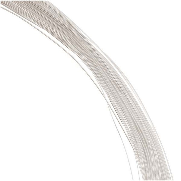 1 Oz. (120 Ft.) 99.9-percent Fine Silver Wire 28 Gauge Round Dead Soft