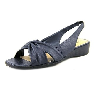 Life Stride Mimosa Women Open-Toe Synthetic Blue Slingback Sandal